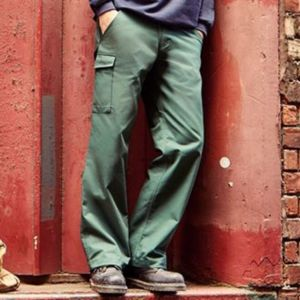 Polycotton twill workwear trousers Thumbnail