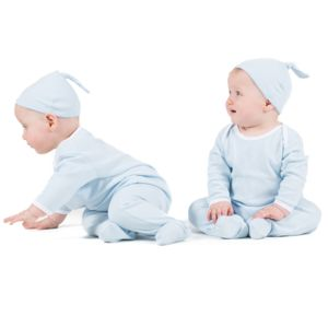 Baby top knotted hat Thumbnail