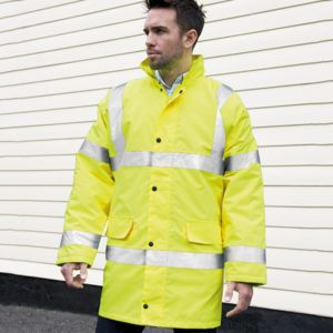 Core safety high-viz coat Thumbnail