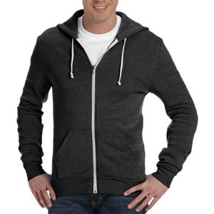 Rocky eco-fleece zip hoodie Thumbnail
