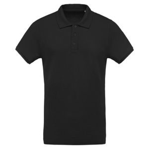 Organic piqué short sleeve polo shirt Thumbnail