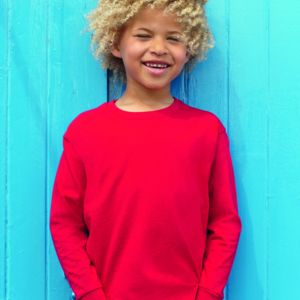 Childrens Long Sleeve Valueweight T-Shirt Thumbnail