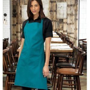 Affiliate - PR154 Colours bib apron with pocket Thumbnail